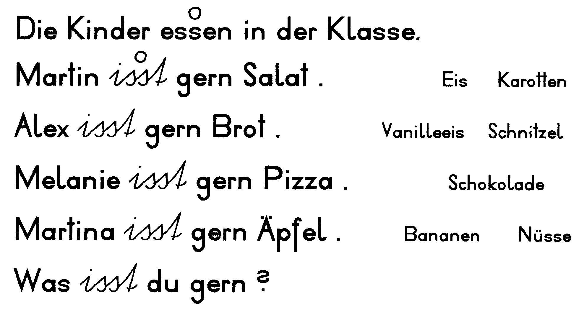 Attractive Apfel Einer Tabelle Der Ersten Klasse Gift - Kindergarten ...